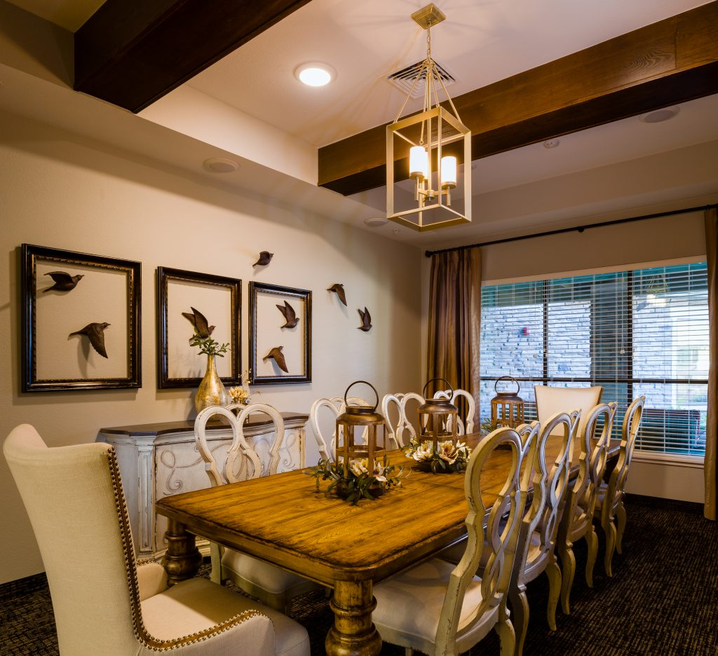 Fancy private dining room