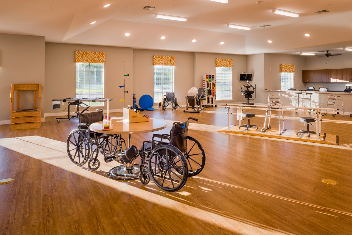 Senior Rehabilitation & Therapy Gym in College Station, TX